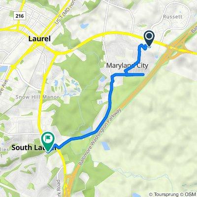 De 3343 Corridor Marketplace, Laurel a 9300 Montpelier Dr, Laurel