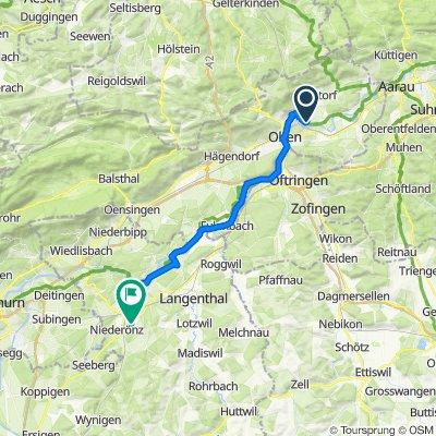 Winznau - Herzogenbuchsee