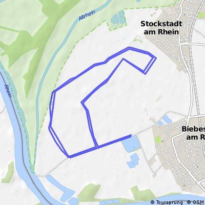 Griesheimer Shorttrack Triathlon Radstrecke 20 km
