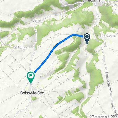 11 Route du Moulin à Vent, Villeconin to 52 Grande Rue, Boissy-le-Sec