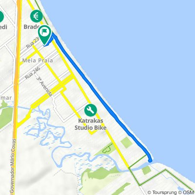 Rua Duzentos e Trinta e Seis, 136, Itapema to Rua Duzentos e Trinta e Seis, 136, Itapema