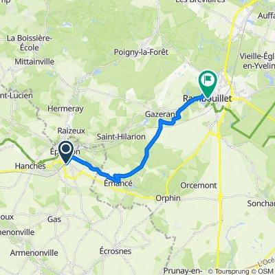 De 37 Rue Saint-Denis, Épernon à 7–11 Rue du Général de Gaulle, Rambouillet