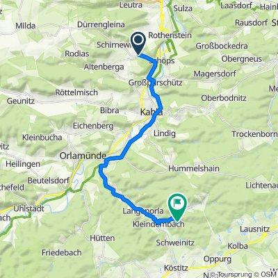 Altendorf 24, Altenberga nach Oppurg