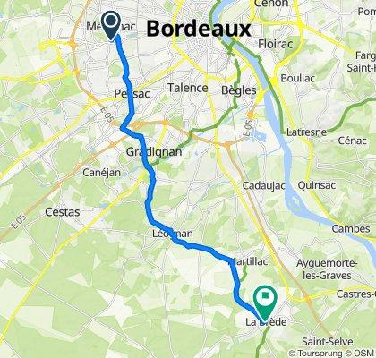 J1- Bordeaux / La Brède