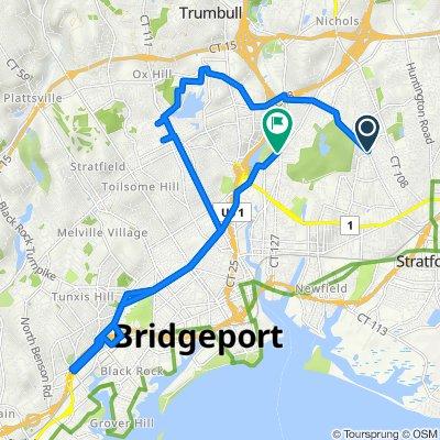 445 Marina Dr, Stratford to 2140 Noble Ave, Bridgeport