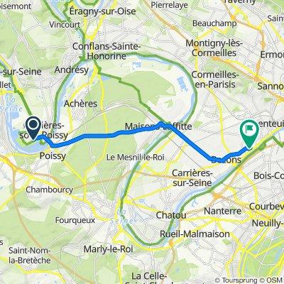 Crisp ride in Argenteuil