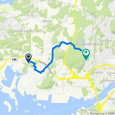 Hamneviksvägen 99, Göteborg to Blåsvädersgatan 12B, Göteborg