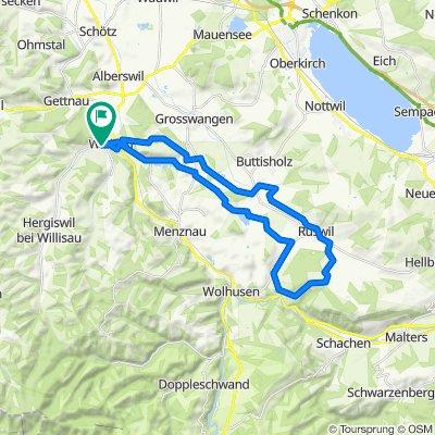 Willisau - Sigigen - Willisau (leicht)