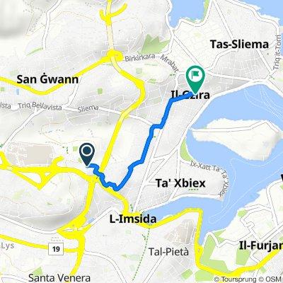 Triq l-Esperanto, Msida to Triq San Albert, Gzira