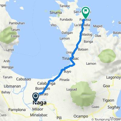 Plantado Road 116, Camaligan to Pag-asa, Tinambac