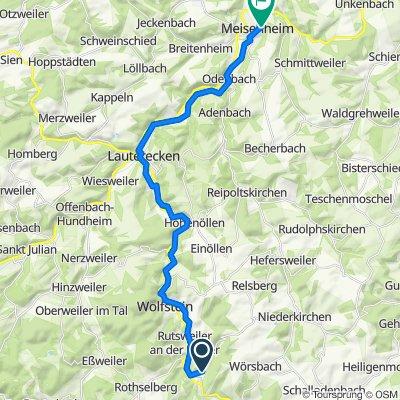 Kreimbach-Kaulbach - Meisenheim
