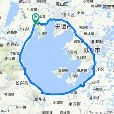 环太湖最短路径