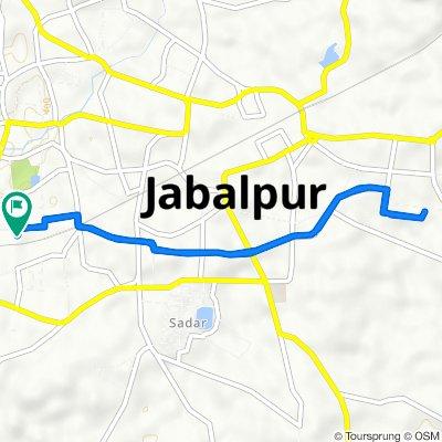 Hari Marg, Jabalpur to Hari Marg, Jabalpur
