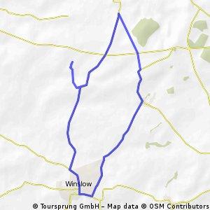 Singleborough 10 mile loop