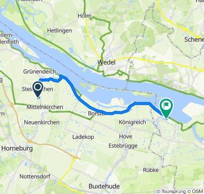 Route von Bergfried 12A, Guderhandviertel