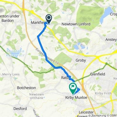 267 Markfield Lane, Markfield to 35–39 Main St, Kirby Muxloe, Leicester