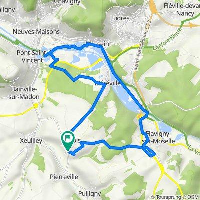 De Route de Pierreville 20, Frolois à Route de Pierreville 18, Frolois