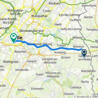 De 35 Grand'Rue, Camphin-en-Pévèle à 1–14 Cité Perqueur Fernandel, Lille
