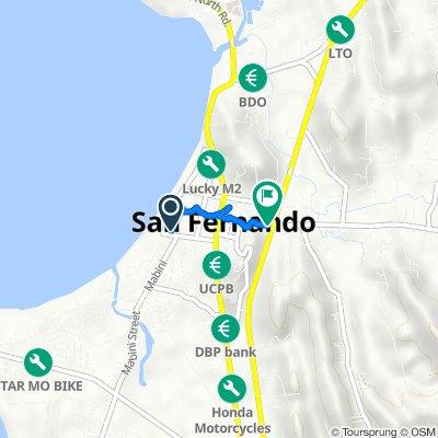 A. Bonifacio Street 020, San Fernando to F. Ortega Highway 14, San Fernando