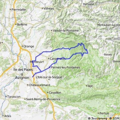Samedi 30 avril 2011 - Brevet Fédéral de 150 km - VELO PASSION MORIERES