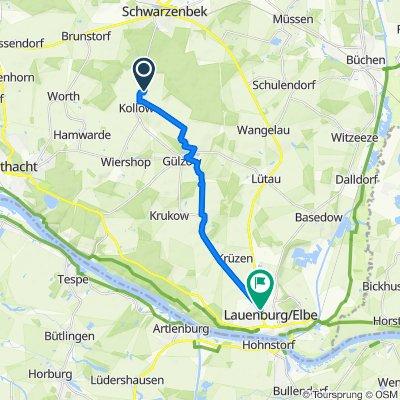 Hinter den Teichen 9A, Kollow nach Spitzort 2, Lauenburg/Elbe