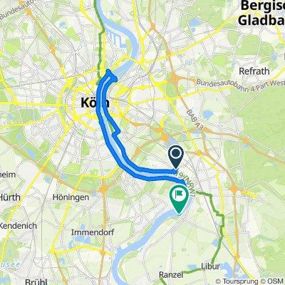 Annastraße 1, Köln nach Köln