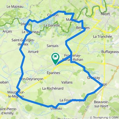 De 10–18 Chemin de Sainte-Catherine, Frontenay-Rohan-Rohan à 10–18 Chemin de Sainte-Catherine, Frontenay-Rohan-Rohan