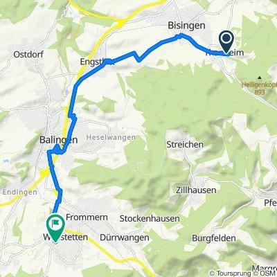 Helle-Wiesen-Straße 3, Bisingen nach Römerstraße 72/5, Balingen