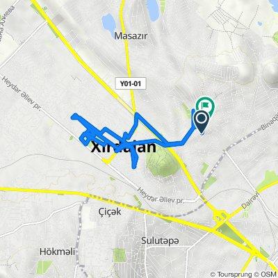 Route to Mini market, Masazır