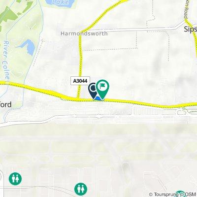 Bath Road 342, Harmondsworth to Bath Road 318, Harmondsworth