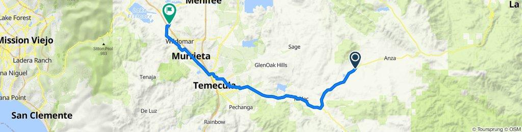 50300–50444 Cahuilla Rd, Anza to 33589 View Crest Dr, Wildomar