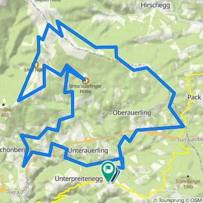 Preitenegg -5 Hütten Tour - Preitenegg