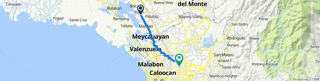 MacArthur Highway 2764, Bocaue to Saint Mary 3, Quezon City
