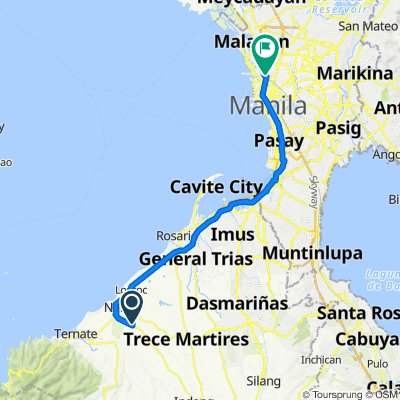 Unnamed Road, Naic to Corregidor Street 1086, Manila