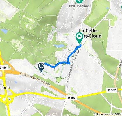 De Avenue Miss Howard, La Celle-Saint-Cloud à 17 La Nouvelle Caravelle, La Celle-Saint-Cloud
