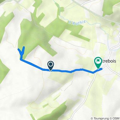 Itinéraire vers 1 Rue de la Varenne, Outrebois