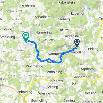 Brunnenweg 2–3, Fürstenstein nach Professor-Reiter-Straße 17, Eging am See