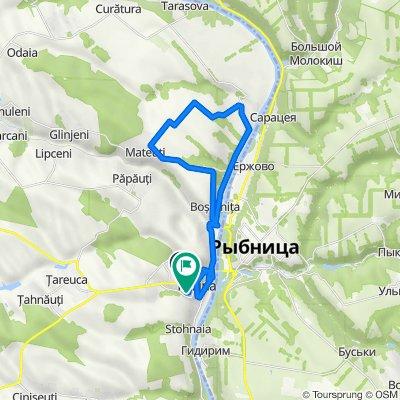 Moldova, Rezina to Voluntarilor, Rezina