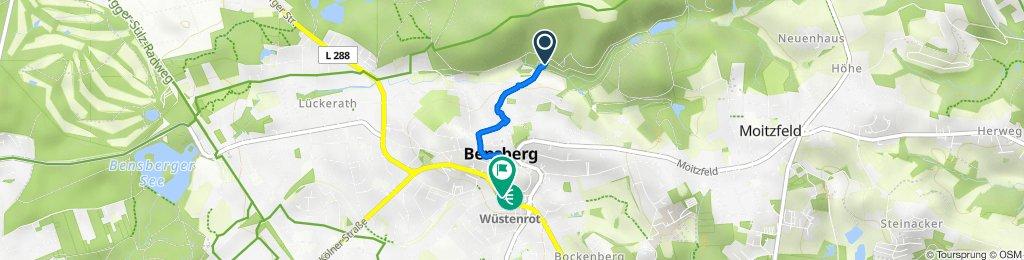 Zuweg Bensberg Nord