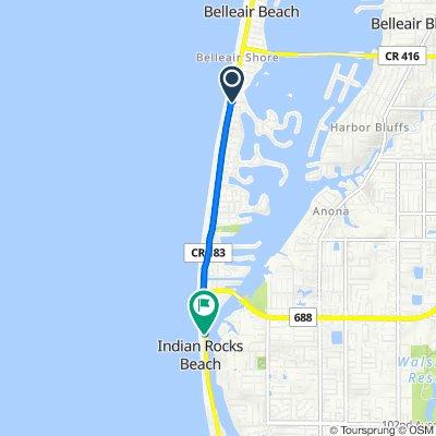 100 First St, Belleair Beach to 101–199 First Ave, Indian Rocks Beach