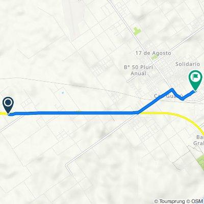 De Corrientes a El Rosedal 2555, Paso de los Libres