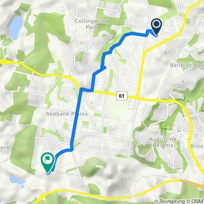 Somerwil Crescent 36, Bellbird Park to Mount Juillerat Drive 7005, Redbank Plains