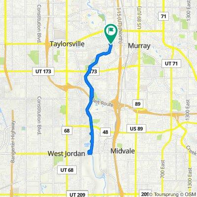 4790 S Riverside Dr, Murray to 4790 S Riverside Dr, Murray