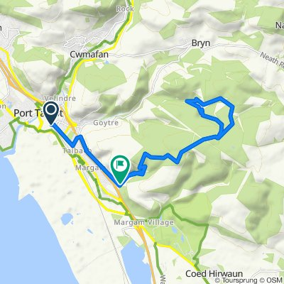 Reservoir Hike Route