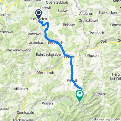 Route von Hubel 11, Rütschelen