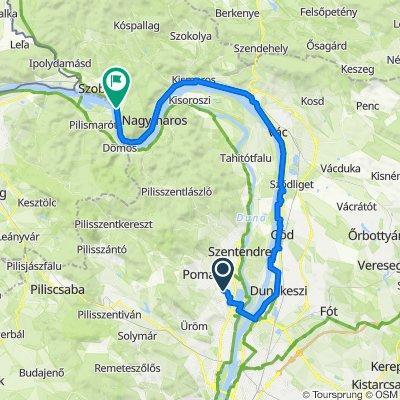 Duna-kanyar a Pesti oldalról