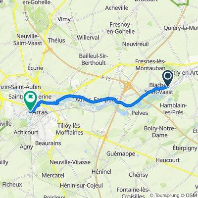 De 61 Rue du Général de Gaulle, Biache-Saint-Vaast à 12 Rue Ferdinand Buisson, Arras