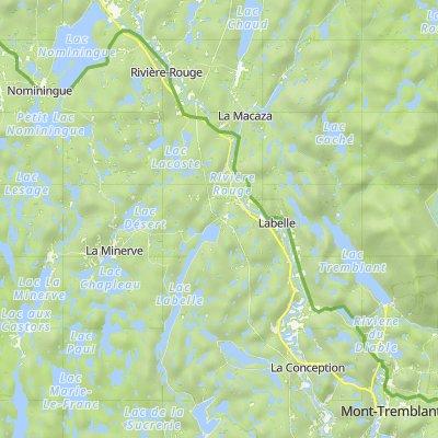 De 126 Ch des Châtaigniers, Nominingue à 231 Rue de St-Jovite, Mont-Tremblant