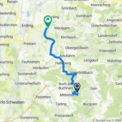 Route nach Salmannskirchen, Bockhorn