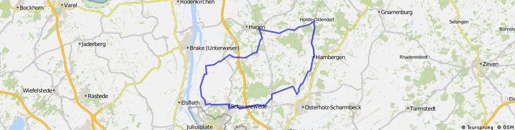 Permanente zwischen Weser und Teufelsmoor